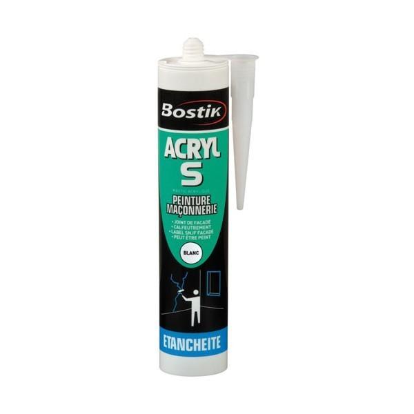 Achat Bostik Acryl S (mastic acrylique)  pas cher