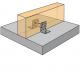 Équerre structurelle Simpson AB105-R