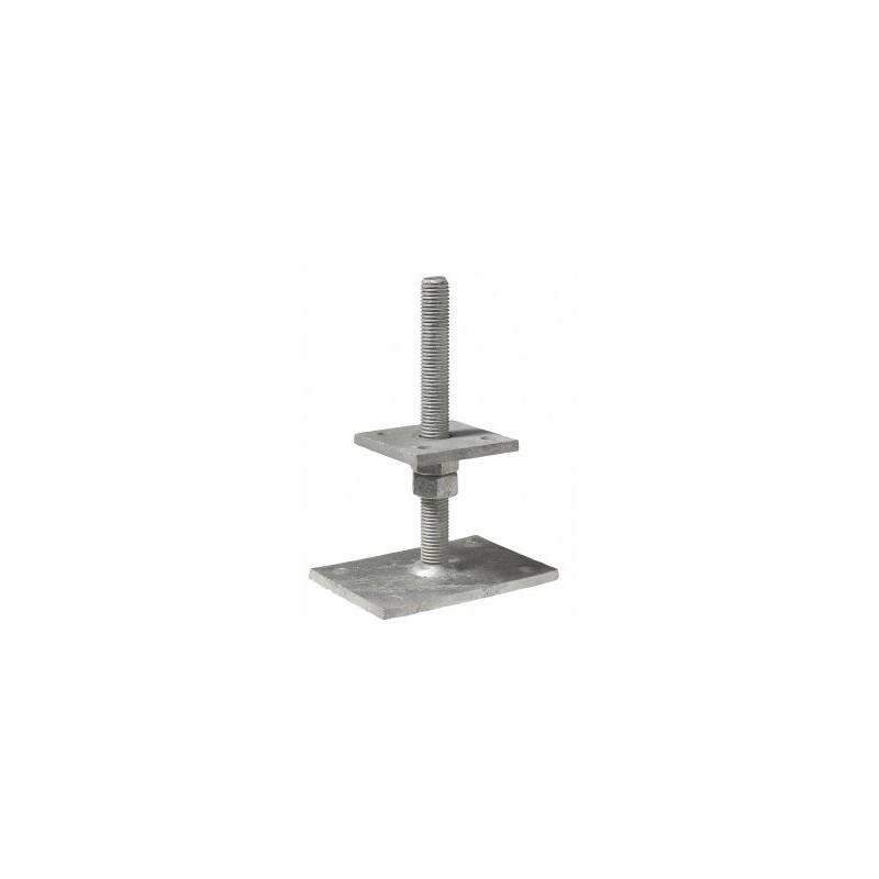 pb40605 simpson pied de poteau r glable. Black Bedroom Furniture Sets. Home Design Ideas