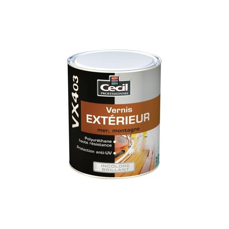 Vernis bois ext rieur cecil vx403 for Vernis pour carrelage exterieur
