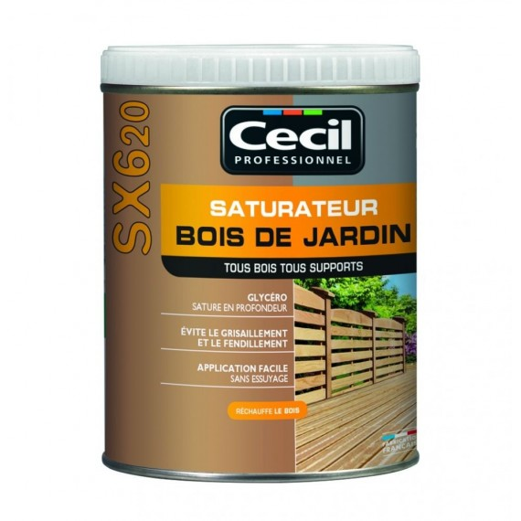 Saturateur CECIL SX620 # Protection Du Bois