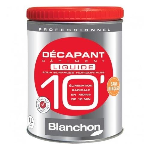 Décapant Bâtiment 10mn Liquide BLANCHON